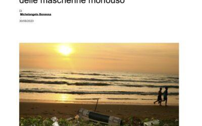 Ecosistemi marini a rischio per colpa delle mascherine monouso