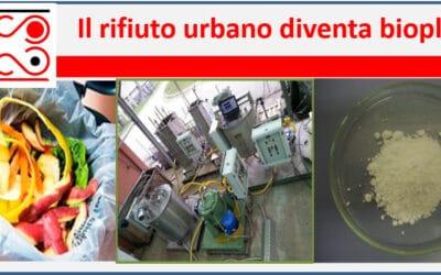RES URBIS: LA PRODUZIONE DI PLASTICHE BIODEGRADABILI DA RIFIUTI ORGANICI E' REALTA'